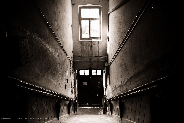 Staircase in Ksiezy Mlyn, Lodz