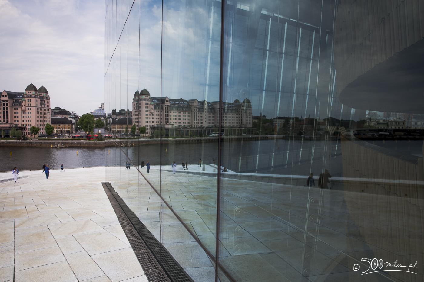 Oslo - Opera - mixed worlds