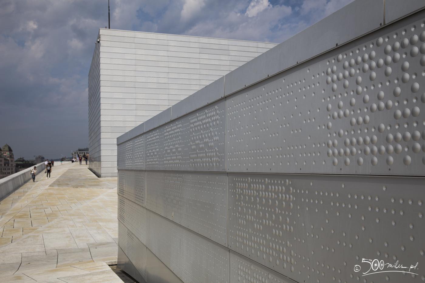 Oslo - Opera - roof