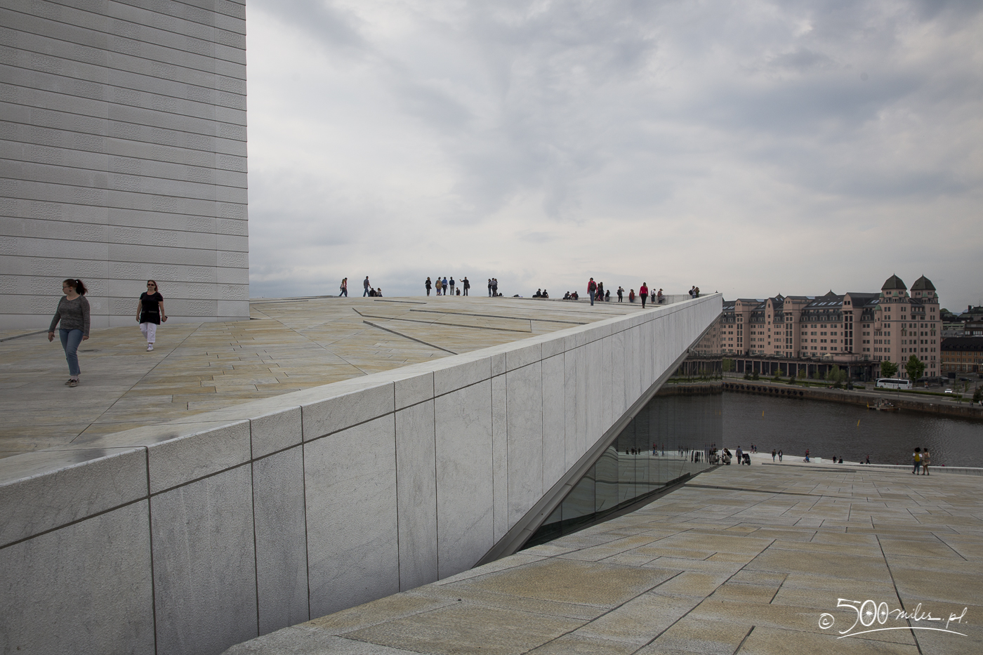 Oslo - Opera - different levels
