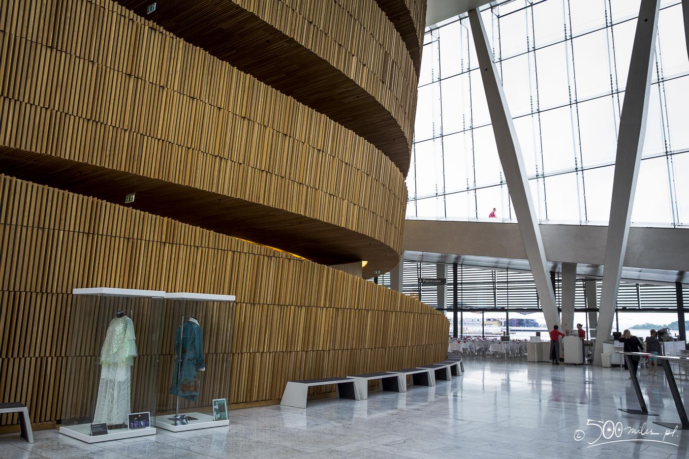 Oslo - Opera - interior