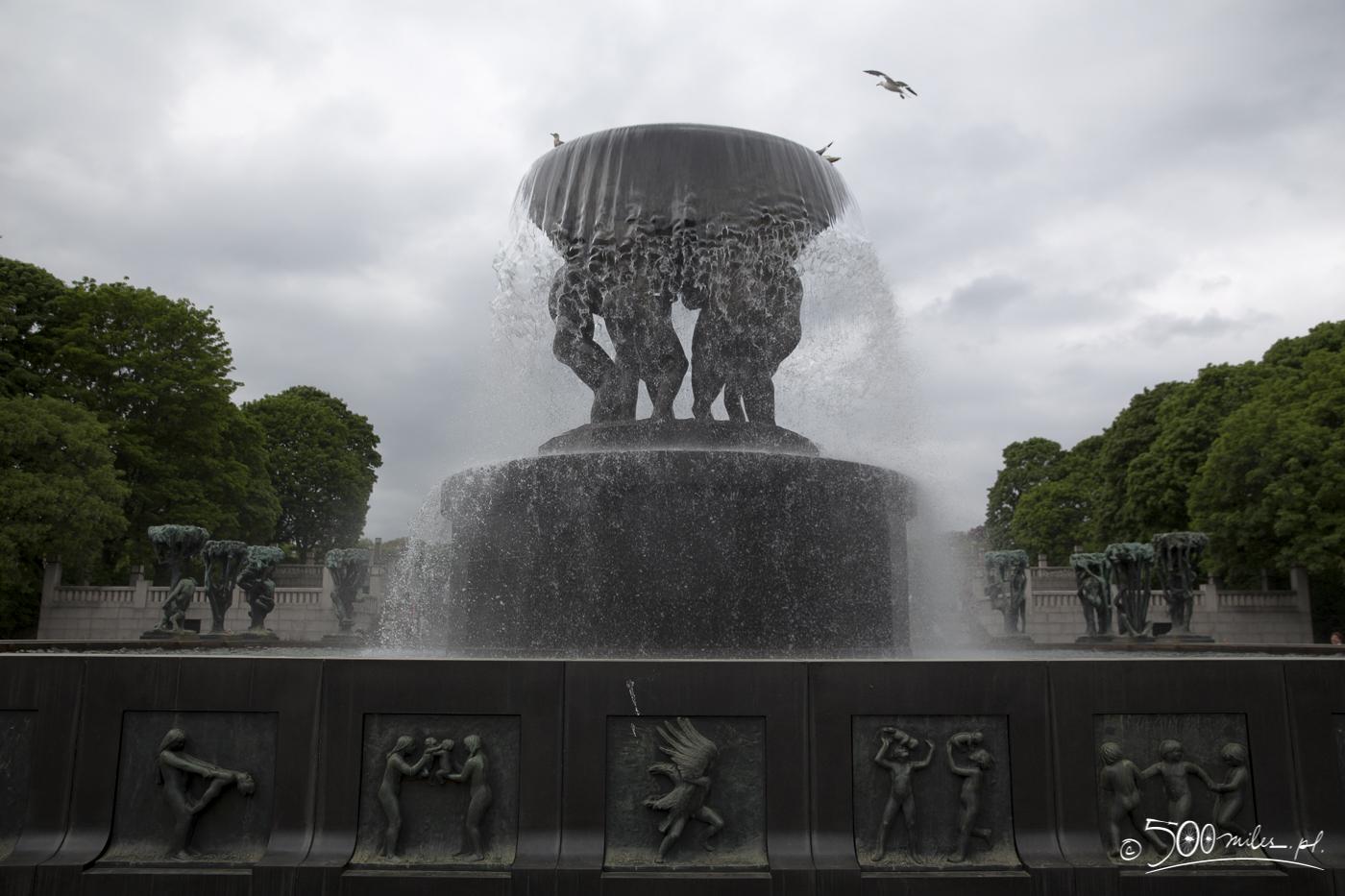 Oslo - Vigeland Park - The wheel of life