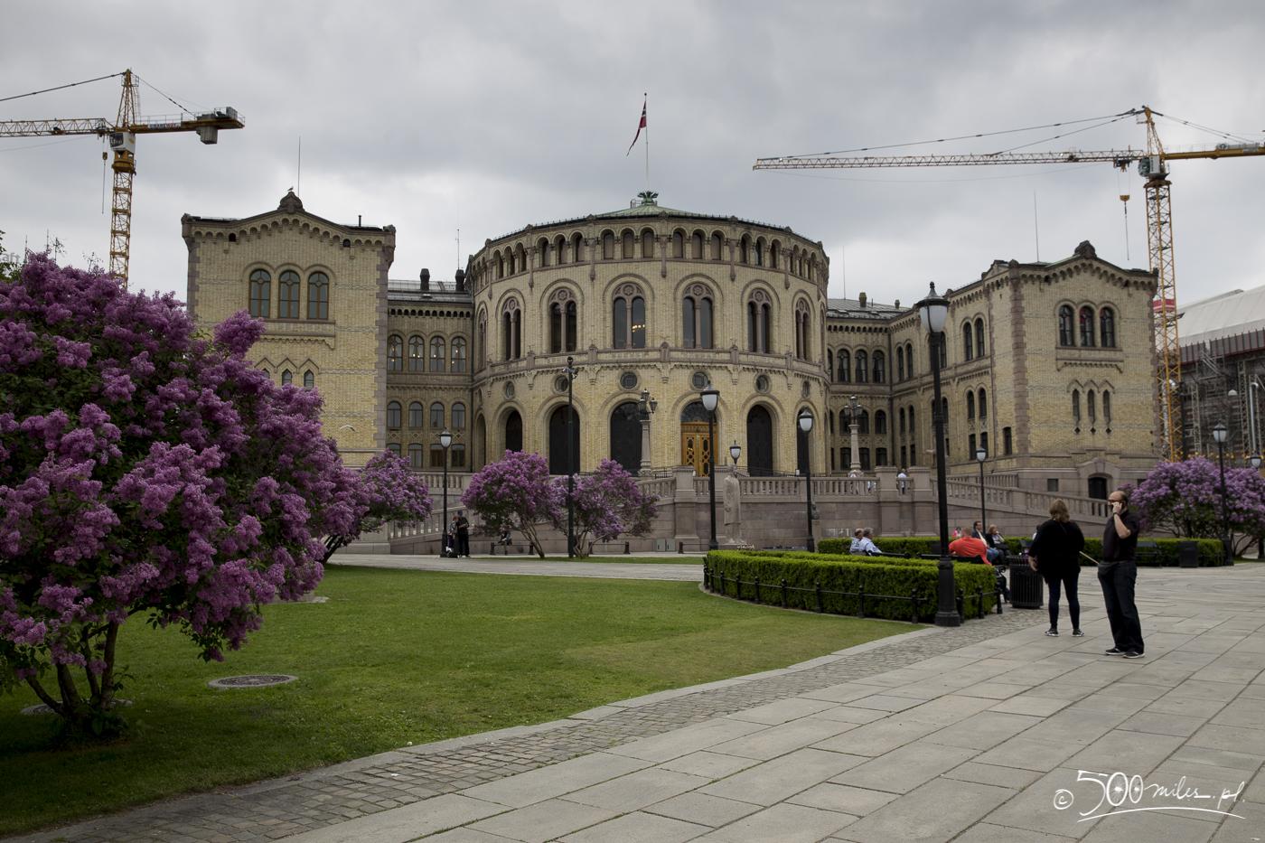Oslo - Stortinget (Parliament)