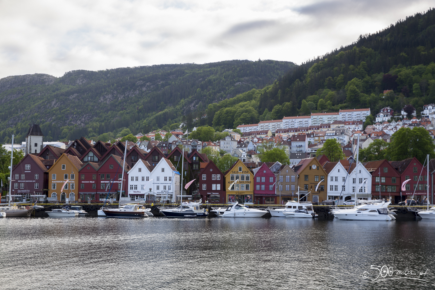 Leaving Bergen, Norway