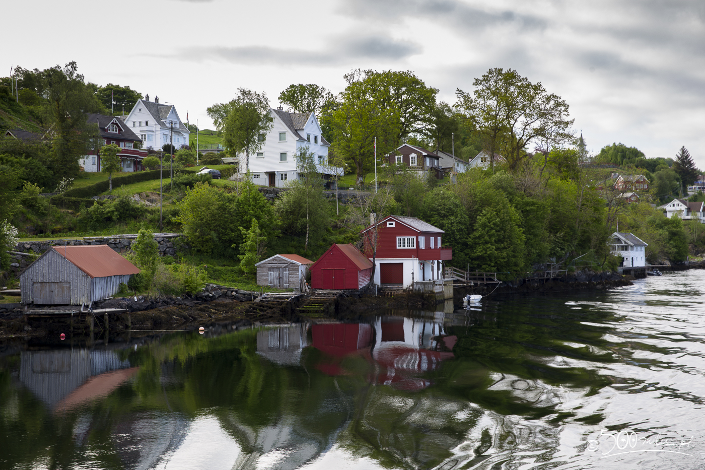 Alversund, on the way to the Sognefjord, Norway