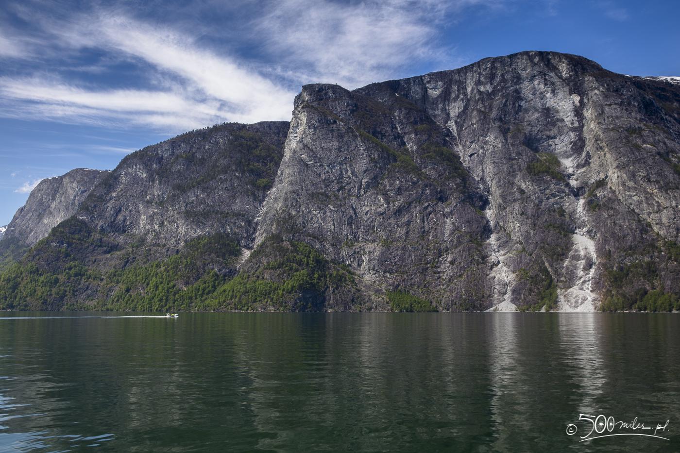 Aurlandsfjorden, part of Sognefjorden, Norway