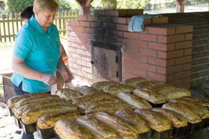 Widno, pieczenie chleba