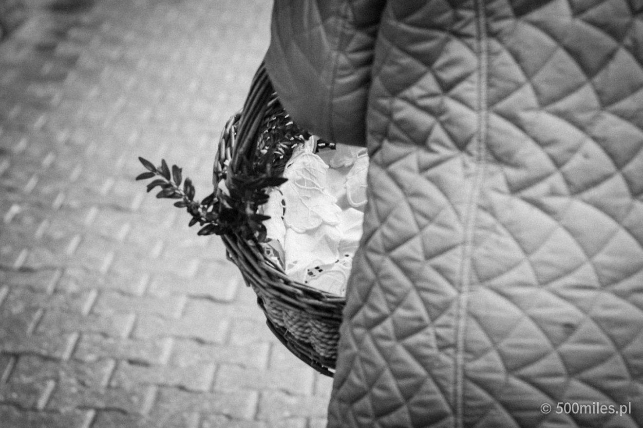Easter basket sanctification tradition