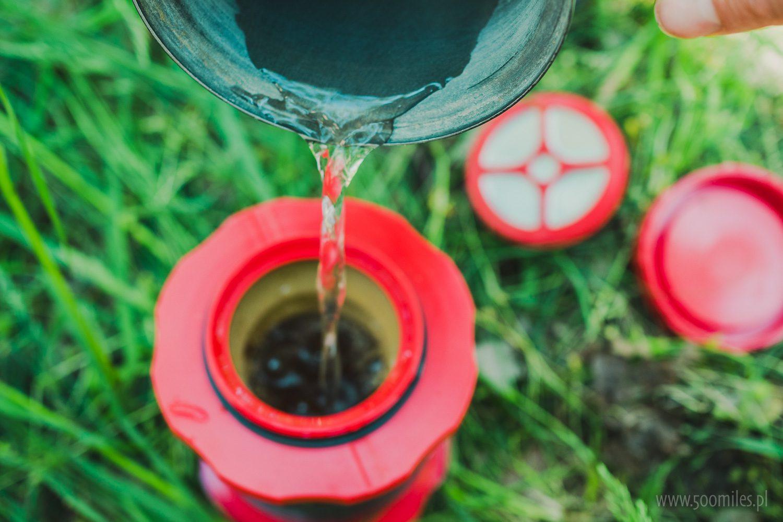 Cafflano Kompact - zalewamy kawę wodą
